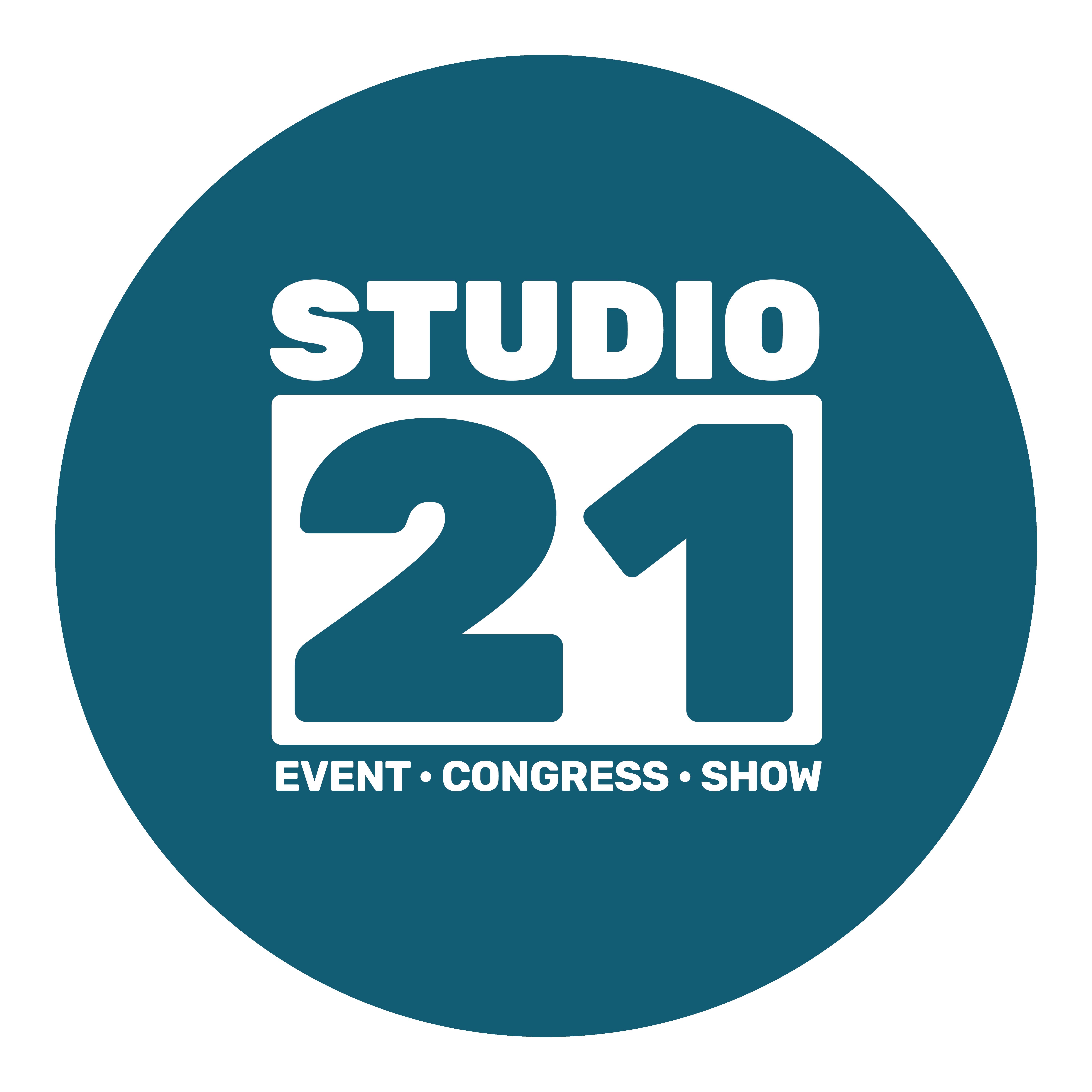 Studio 21 - In no time een verpletterende (merk)beleving neerzetten? Dan ga je naar Studio 21! In een compleet verbouwde ronde studio wordt de nieuwe standaard gezet in stagedesign, videocontent en lichtshows. Een high-end eventlocatie! IT'S A KIND OF MAGIC!