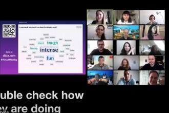 Hoe u uw publiek kunt betrekken bij vergaderingen op afstand
