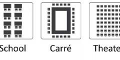 Handig hulpmiddel voor het aantal vierkante meters dat jouw evenement nodig heeft
