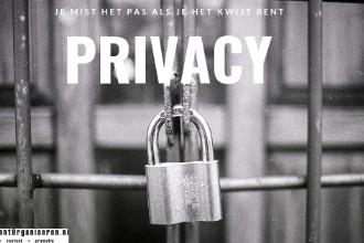 Privacy: bescherm het of je bent het kwijt