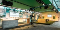 Hybride studio van Van der Maarel Eventstyling