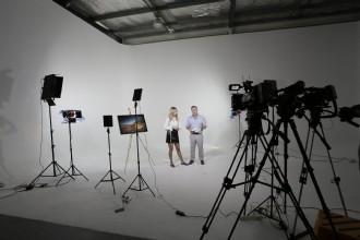 Overzicht van 18 studio's voor de opname van online events