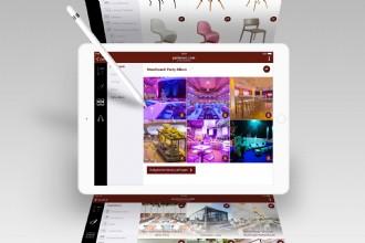 De inrichting van jouw evenement via een App?