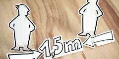 Corona en evenementen: hoeveel vierkante meter heb je nodig per persoon?
