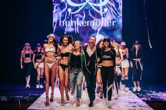 Voorbeeld van een live evenement dat online uitgevoerd wordt: Hunkemöller