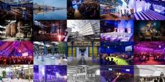 Bijzondere industriële evenementenlocaties