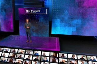 Virtual event met live publieksinteractie